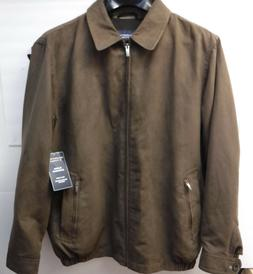 Roundtree & Yorke Outerwear Brown Size LT Fully Lined Jacket