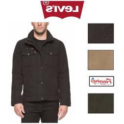 SALE! Levi's Men's Knit Collar Cotton Canvas Shell Trucker J