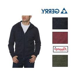 NEW! SALE! Gerry Men's Full Zip Hoodie Jacket  - VARIETY - F