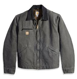 Carhartt Sandstone Duck Detroit Blanket Lined Jacket J97 GVL