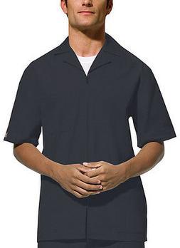 Scrubs Cherokee Workwear Men's Zip Front Jacket 4300 Pewter