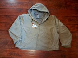 Carhartt Men's Big & Tall Sherpa Lined Sandstone Sierra Jack