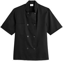 White Swan Unisex Short Sleeve Chef Jacket