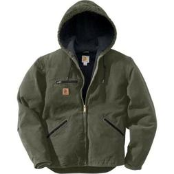 Carhartt Sierra Sherpa Lined Mens Jacket Moss XXL J141 Brand