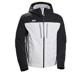 Helly Hansen Men's Signal Ski Jacket, White, Medium