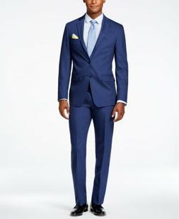$855 CALVIN KLEIN Men Extreme Slim X Fit Wool Suit Blue 2 PI