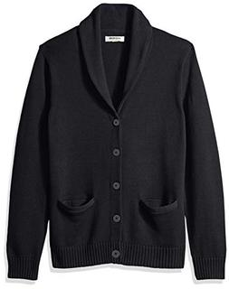 Goodthreads Men's Soft Cotton Shawl Cardigan Sweater, Solid