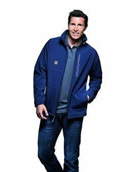 Softshell Jacket Men Fleece-Lined Water-Resistant Windproof,