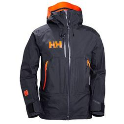 Helly Hansen Men's SOGN Shell Ski Jacket, Graphite Blue, X