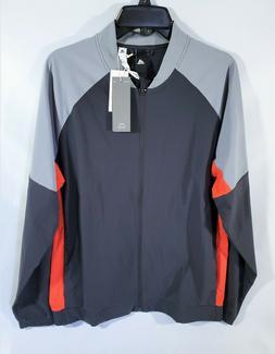Adidas Sport ID Bomber Jacket Windbreaker Men's Large Gray O