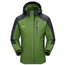Diamond Candy Men Hooded Waterproof Jacket Casual Lightweigh