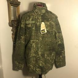 Alpha Industries Spotted Camo Driver Jacket,men's M
