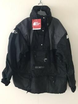 STEEP TECH Jacket Parka Hooded Black/Gray MEN's  THE NORTH F