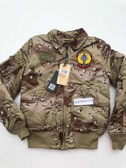 Alpha Industries Storm Cruise Chocolate Chip Camo Bomber Jac