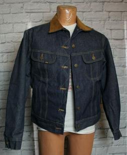 Lee Storm Rider Vintage 70s Deadstock Jacket  44 Blanket Lin