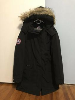 Canada Goose Style Men Black Down Jacket