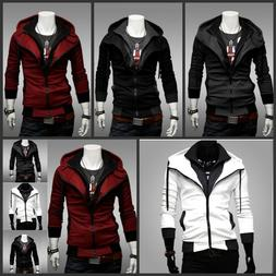 Stylish Creed Hoodie Cool Slim men's Cosplay For Assassins J