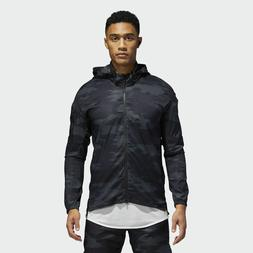 adidas Supernova TKO DPR Jacket Men New Mens Black Dark Grey