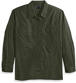 5.11 Men's Taclite TDU Long Sleeve Shirt, TDU Green, X-Large