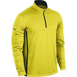NIKE Men's Therma-FIT Cover-Up Jacket, Electrolime/Black/Ant