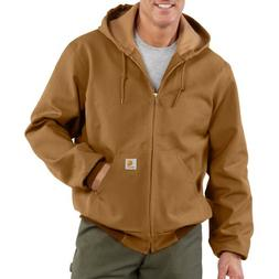 Carhartt Men's Big & Tall Thermal Lined Duck Active Jacket J