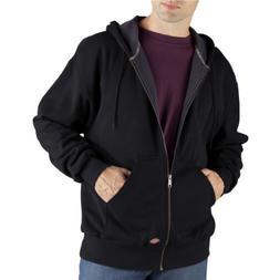 Dickies Men's Thermal Lined Fleece Jacket, Black, 3X-Large T
