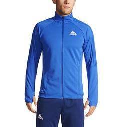 Adidas Tiro17 Mens Soccer Training Jacket-BQ8201-Boblue/Blac