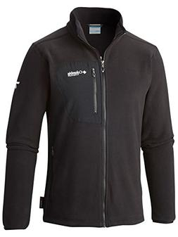 Columbia Men's Titan Pass 2.0 Fleece Jacket, Black, Large