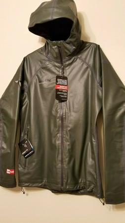 COLUMBIA Titanium Men's Rain EXS Jacket- HARDY ROAD Outdry-E