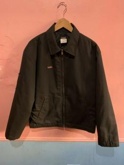 Dickies TJ15BKMED Medium Black Lined Eisenhower Jacket - Med