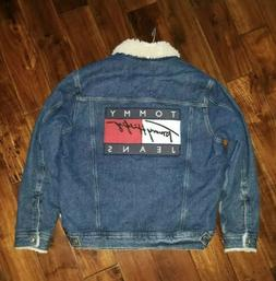 Tommy Jeans Hilfiger 90's Capsule Denim Sherpa Jacket Men's