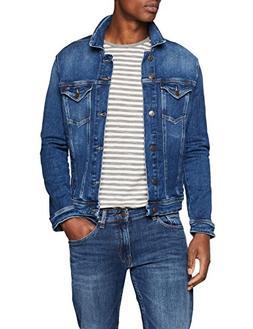 Tommy Jeans Men's Jean Jacket Classic Denim Trucker, Paseo M