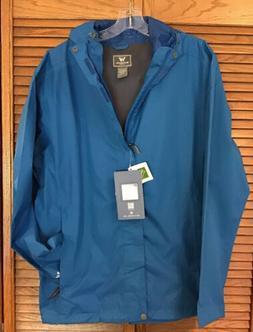 White Sierra Trabagon Rain Shell Windbreaker Jacket Men's L