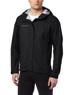 Columbia Men's Trail Turner Shell Jacket, Large, Black