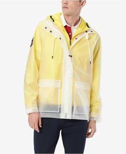 Tommy Hilfiger Transparent Hooded Men's Jacket Off Shore N