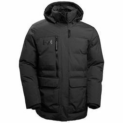 Helly Hansen Tromsoe Men's Jacket Coat Black SIZE 2 XL Wat