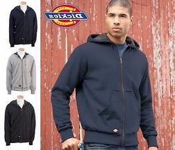 TW382 Dickies Mens Thermal Lined Hooded Fleece Jacket Work H