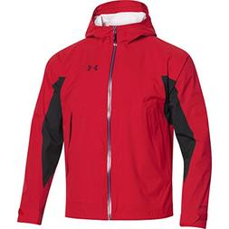 Under Armour UA Armour Stretch Rain Jacket - Men's Red / She