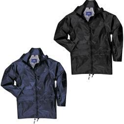 us440 classic rain jacket black navy available