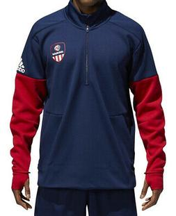 adidas USA Volleyball Jacket 1/4 Zip CF1418 Mens Volleyball