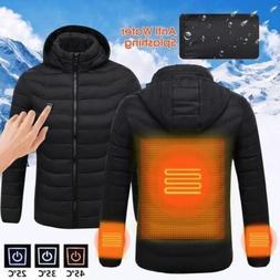 USB Heater Hunting Vest Heated Jacket Heating Coat Winter Cl