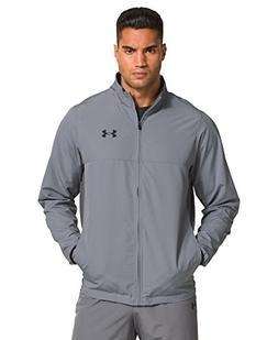 Under Armour Men's Vital Warm-Up Jacket, Steel/Graphite, X-L
