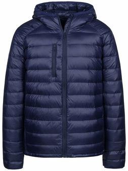Wantdo Men's Packable Insulated Light Weight Hooded Puffer D