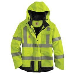 Carhartt Waterproof Jacket Insulated Men's 3X Large Brite Li