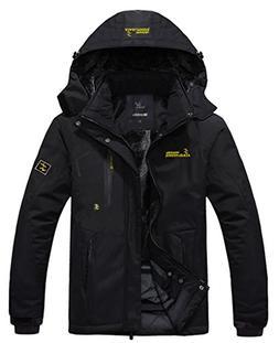 waterproof mountain jacket fleece windproof