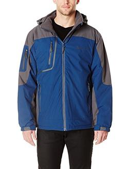 Free Country Men's Waterproof Stretch Mid-Weight Jacket With