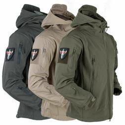 waterproof tactical soft shell mens jacket coat