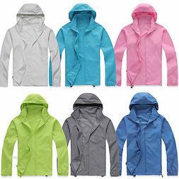 Waterproof Windproof Jackets Men Womens Oversized Lightweigh