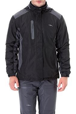 Trailside Supply Co. Men's Weatherproof Fleece-Lined Hooded