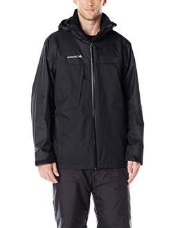 Columbia Men's Whirlibird Interchange Jacket, Black, Medium